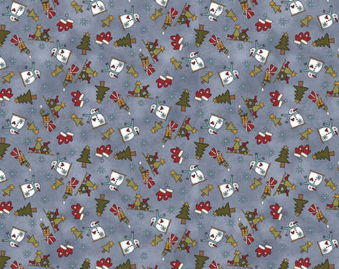 My Red Wagon / 2540 75 / Henry Glass / Fabric / Quilting Fabric / Christmas Fabric / Debbie Busby