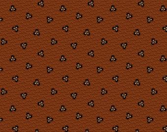 Prairie Dry Goods / R1759 DK Rust  / Marcus Fabrics / Pam Buda / Fabric / Quilting Fabric