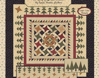 KT 20131G / Moda / Sweet Holly / Evergreen / Kansas Troubles  / Pattern / Quilting