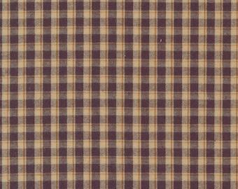 Homespun Fabric / 9660 26 / Kansas Troubles Quilters / Homemade  Homespuns / Moda  / Wovens / Fabric / Quilting Fabric