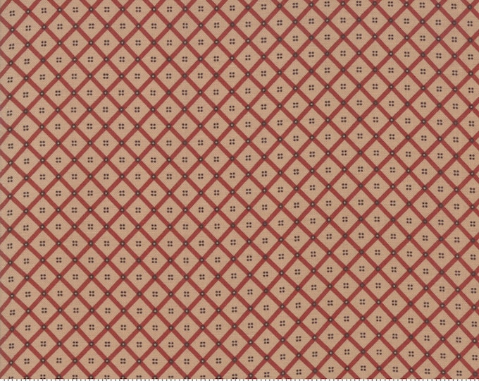 38075 14 / Moda / Fabric / Quilting Fabric / Shelbyville Collection / Jo Morton /