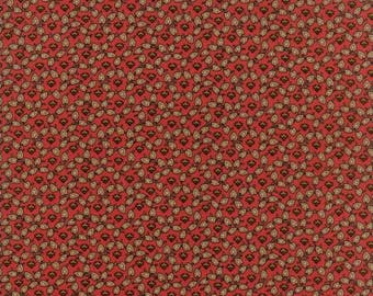 38032 14 / Moda / Fabric / Quilting Fabric / New Hope Collection /Jo Morton / Red