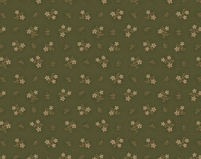 Country Meadow / R1714 Olive / Pam Buda / Marcus / Marcus Fabric / Quilting Fabric / Fabric
