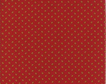 38038 13 / Moda / Fabric / Quilting Fabric / New Hope Collection /Jo Morton / Red