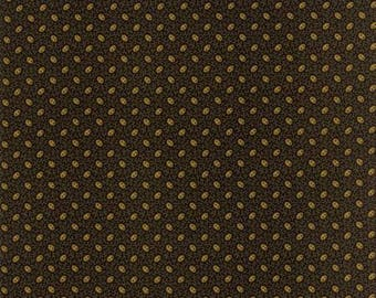 38038 17 / Moda / Fabric / Quilting Fabric / New Hope Collection /Jo Morton / Black
