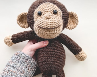 Little Monkey Bookmark to back to school - Sueños Blanditos | 270x340