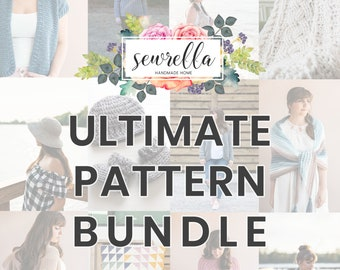 Ultimate Crochet 100+ PATTERN BUNDLE from Sewrella!