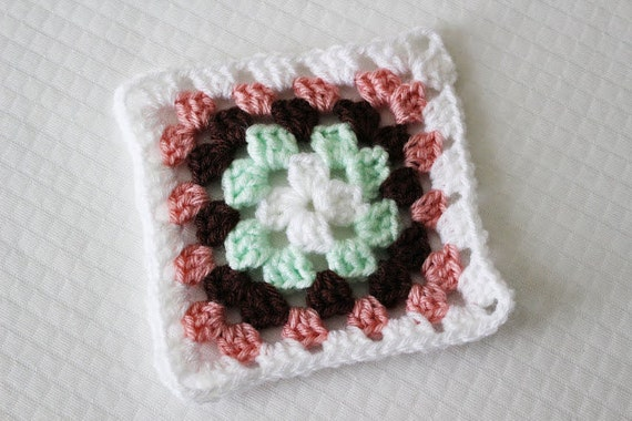 Traditional Crochet Granny Square Pattern Pdf Instant Digital Download For Beginners