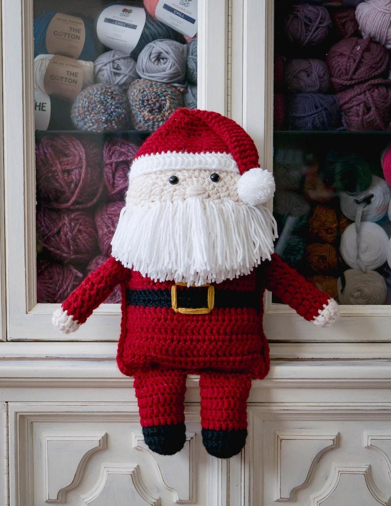 Santa Claus Crochet Christmas Pattern pdf instant digital image 0