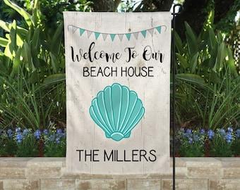 Seas Life/'s-Coastal Beach Ocean Welcome better Garden Yard Banner House Flag