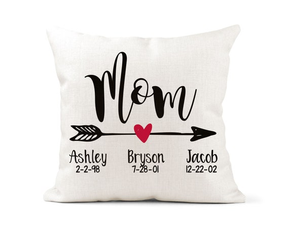 Mom Pillow Personalized