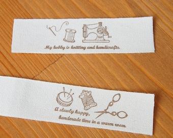W15mm Printed Cotton Ribbon Label Fruit /& Flower Pattern Sewing Accessory Zakka 2 metres