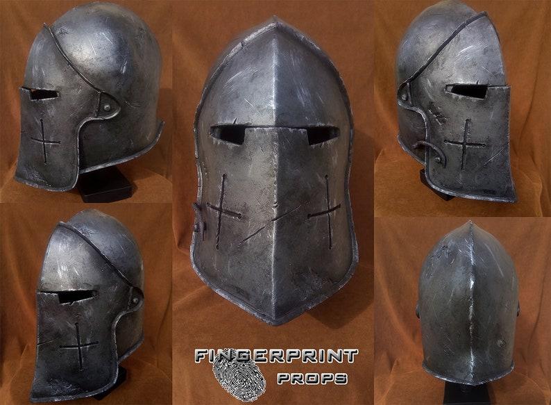 For Honor - Warden Helmet Cinematic Replica Handmade