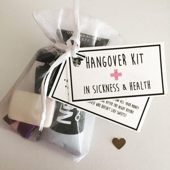 Kater-Kits tun Henne Survival Kits Gastgeschenke Hochzeit | Etsy