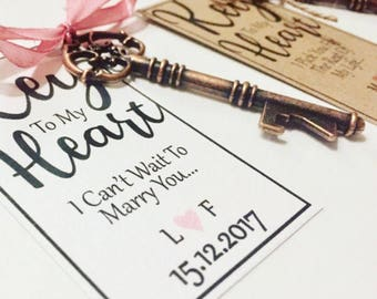 Grooms Key to My Heart Gift, Grooms Gift Tags, Grooms Gift, wedding gifts, Gifts for Groom, Personalised Bottle Opener