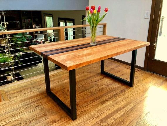 Metal Table Legs Pair U Frame - How To Clean Rusty Metal Table Legs