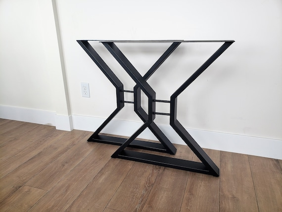 Dining Table Legs Metal Table Legs Iron Table Legs Entry Table Legs Live Edge Table Legs