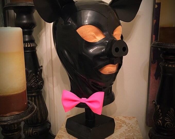 The Piggy Latex Hood