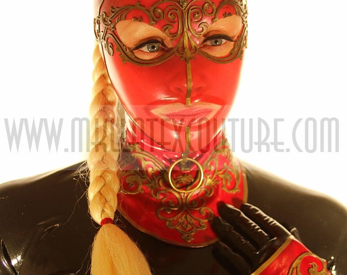 The Dutchess Latex Hood
