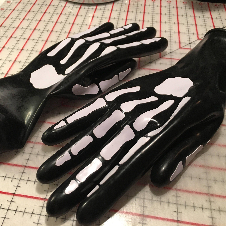 Grim Reaper Latex Gloves