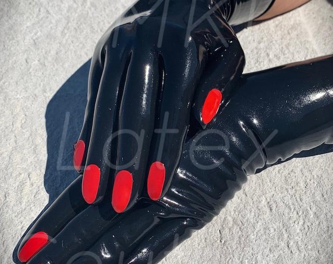 Manicured Latex Gloves