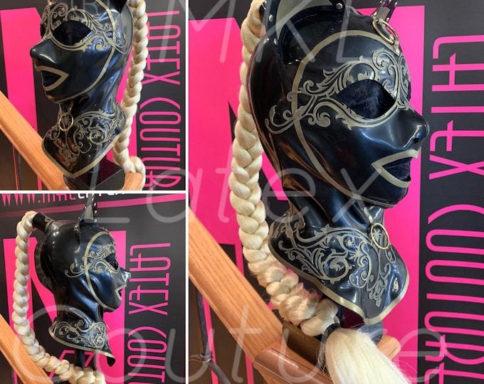 The Kitty Dutchess Latex Hood