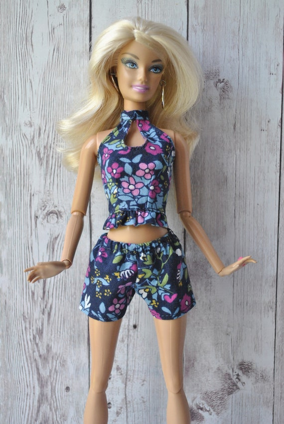 NEW Barbie Fashionista Doll Pink Shorts ~ Also Fit Model Muse ~ Pants ~ Clothing
