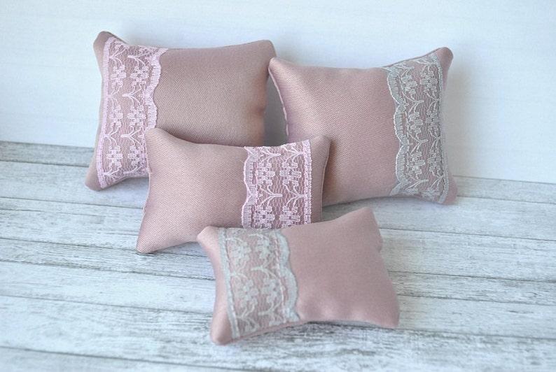 Handmade set of 4 pillows for BarbiePoppy ParkerFashion image 0