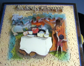 Tea for the Tillerman, Cat Stevens, 'Life Puzzle' #3D #Custom #Wooden #Hand Crafted #Made in UK #Bespoke #Personalized #Three Dimensional