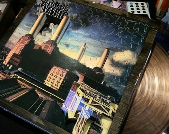 Pink Floyd Life Puzzle album cover jigsaw