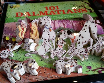 101 Dalmations, Walt Disney's, Story Album Cover, 'Life Puzzle' #3D #Custom #Wood #Hand Crafted #Made in UK #Bespoke #Personalized