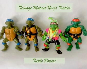 head Turtles TMNT Vintage Power Patch 1989 Mirage Studios NEW Master Splinter