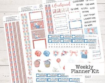 Call of the Werewolf Standard VerticalDeluxe Weekly Kit Planner Stickers