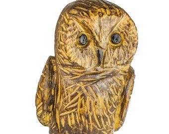 Carved owls wise wood free photo on pixabay
