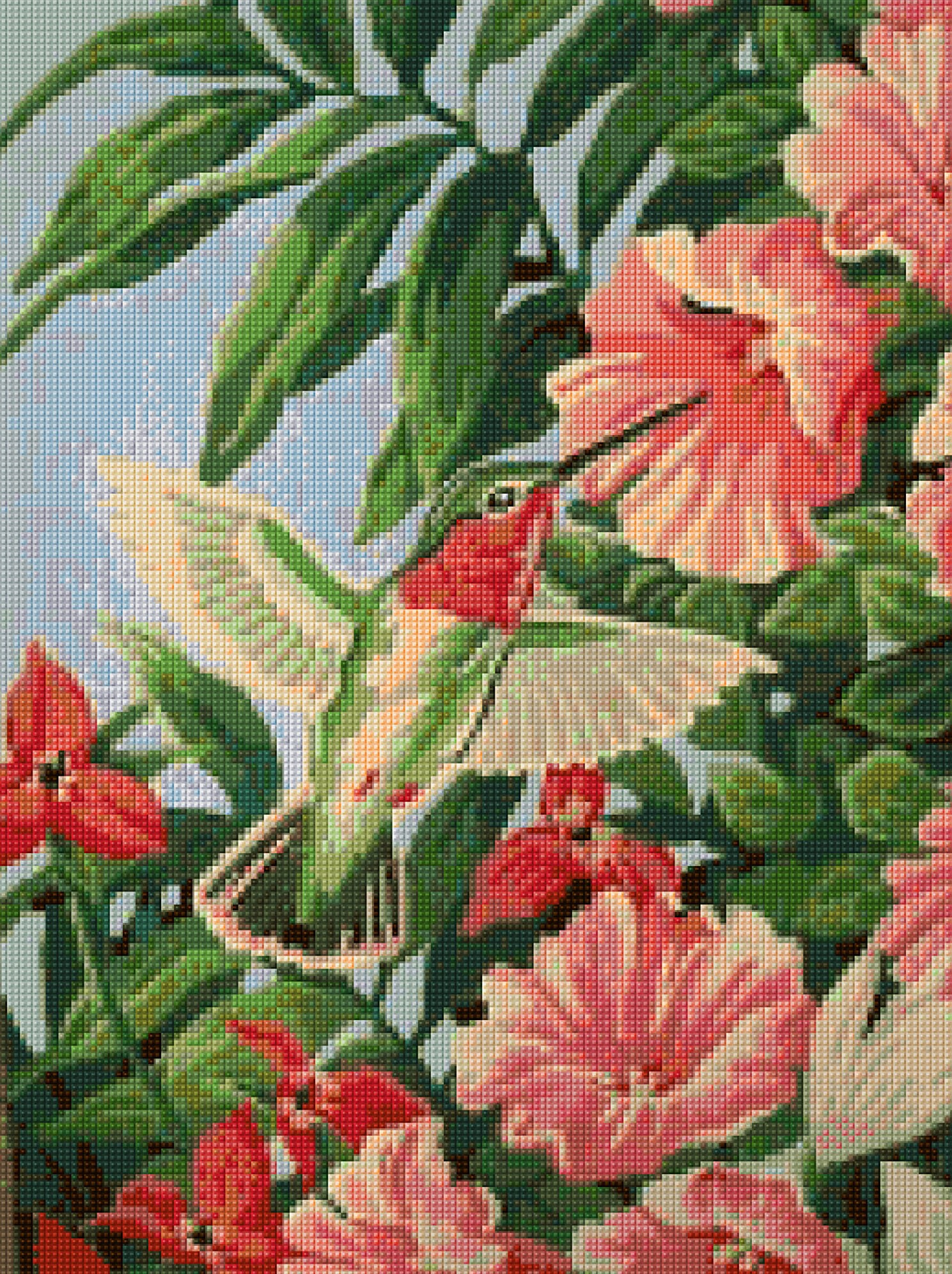 1950s Hummingbird Mid Century Cross Stitch Pattern Pdf Etsy You Can Also Download The Instructions As A Document 50