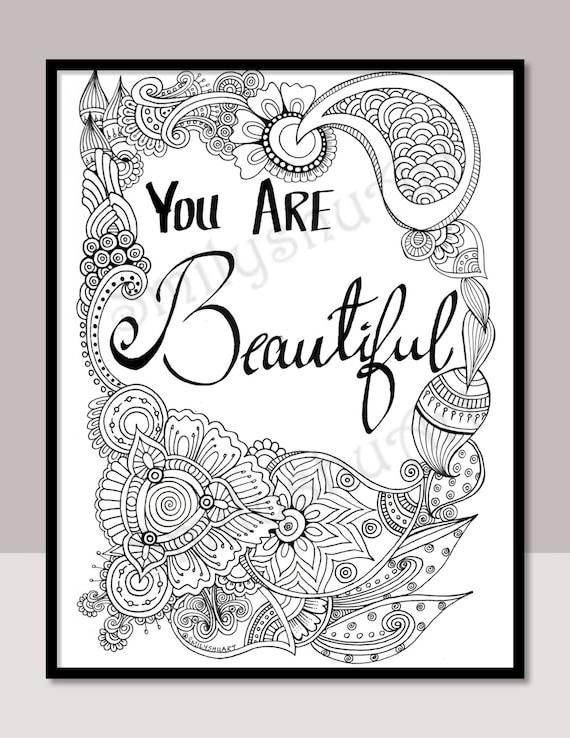 Beauty coloring page | Recolor app | Filtro dos sonhos desenho ... | 738x570