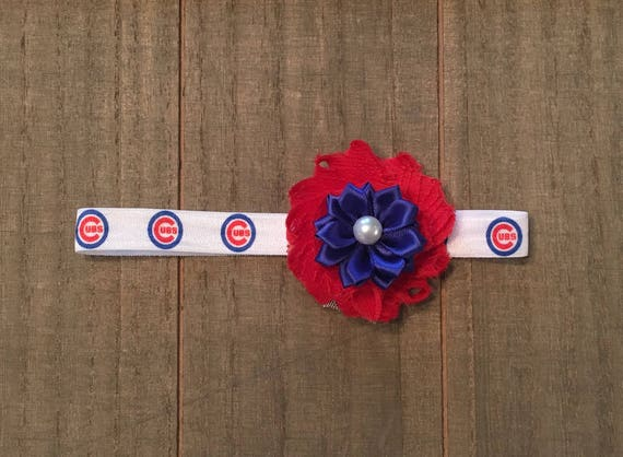 Chicago Cubs headband Chicago Cubs Baby Chicago Cubs Little  a40099d34c2