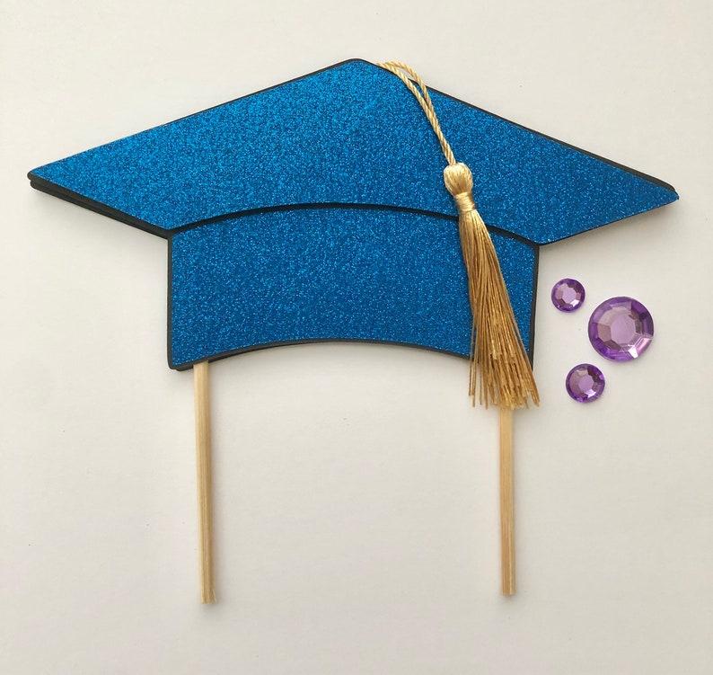 Graduation Cap Cake Topper