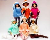 Poncho for Barbie