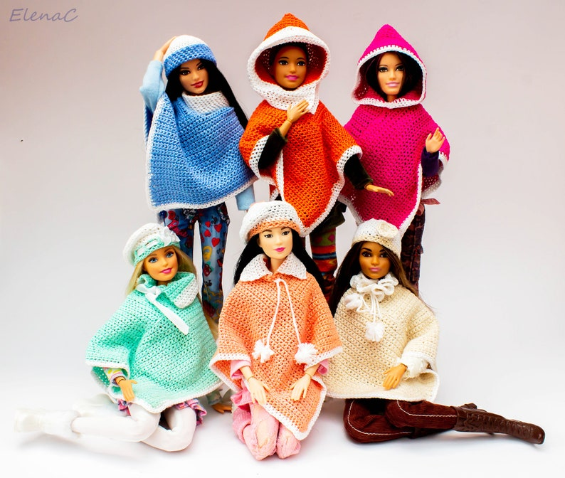 Poncho for Barbie image 0