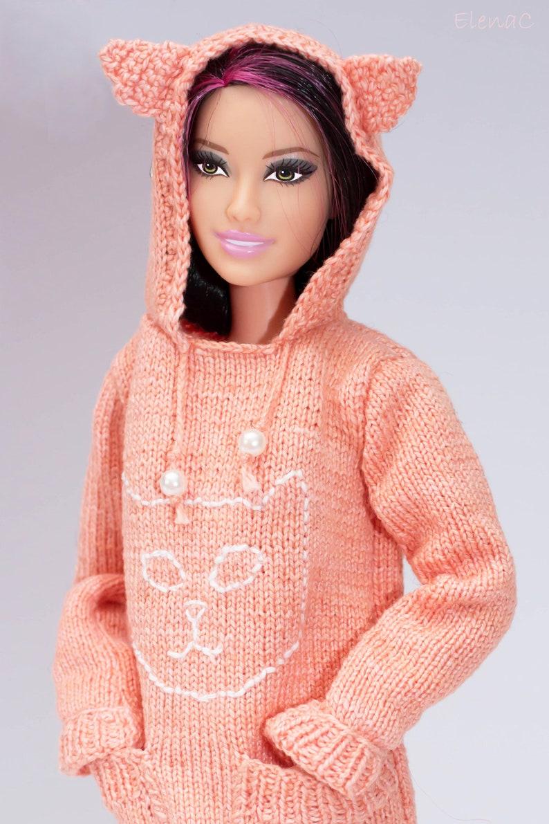 Pink cat sweater image 0