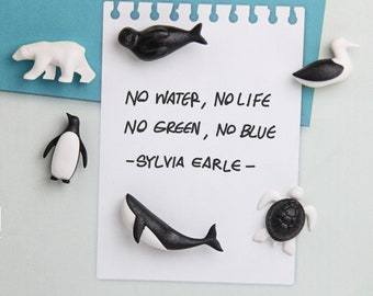 Fridge magnets Save the Ocean