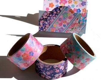 Flowers Masking Tape Washi Tape 25 mm x 4 M
