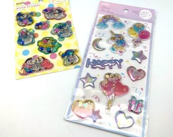 Penguins / Happy , Sticker Stickers