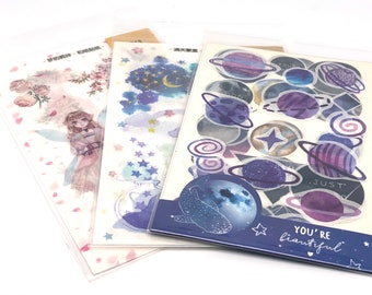 Planets / Fairy, Dream World - Stickers, Stickers,