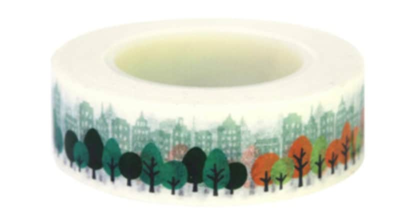 NYC Central Park 15 m x 15 mm Washi tapemas...