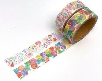 Lantern / Balloon Tape/Masking Tape 15 mm x 6 M