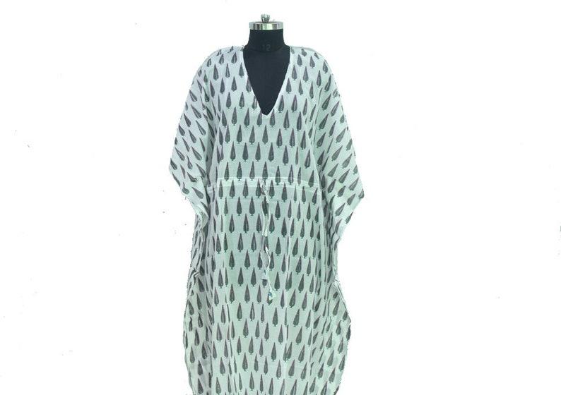Sleepwear Dress Indian Kaftan Indian Cotton Kaftan Beach Cover up Maxi Dress Bikini Cover Up Women Tunic,Long Caftan,Nursing caftan