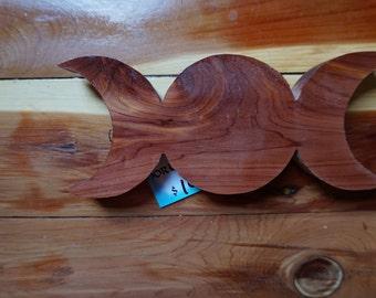 Triple moon wall hanger For Altar/shelf