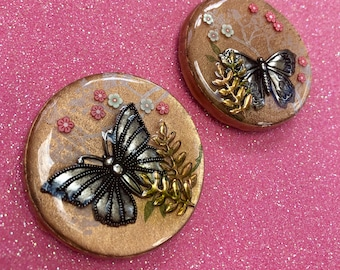 Set of 2 Butterfly magnets
